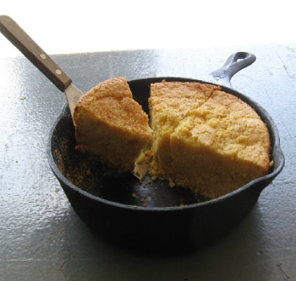 Grilled Cornbread