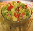 Kukuice a Avocado Salsa